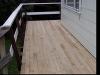 Slippery Deck repair and replace